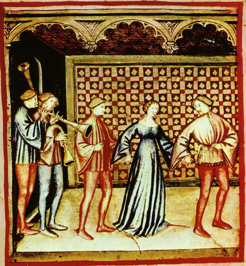 musicisti medioevo